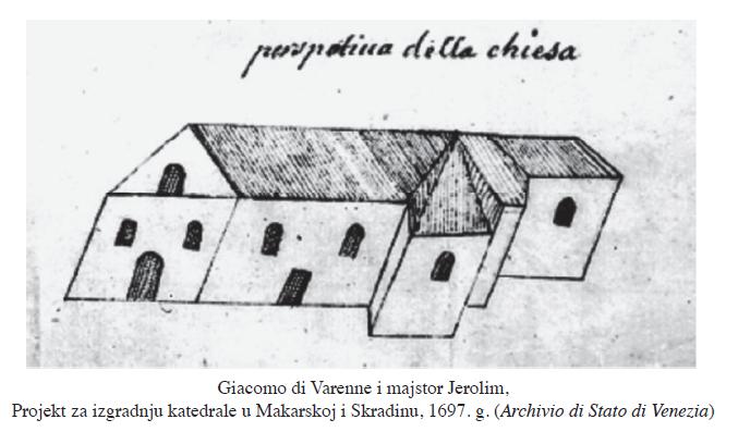 katedra projekt z 1697 roku
