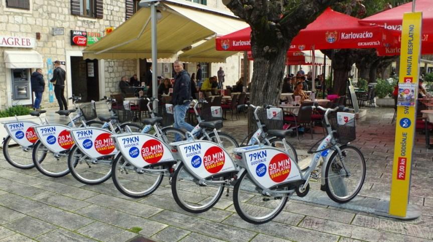 Miejskie rowery wMakarskiej!!!